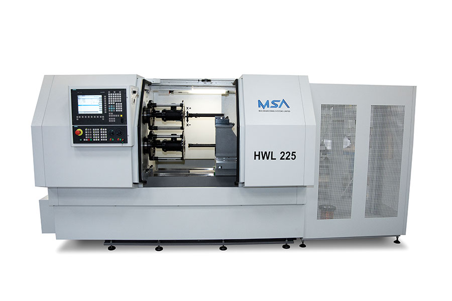 HWL 225T Twin Spindle Horizontal Wire Laying